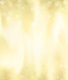 Goldene metallische Weihnachtskarte gebildet im Illustrator Stockfotos