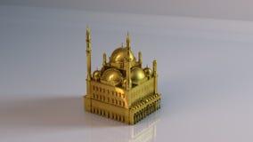 Goldene Moschee Stockbilder