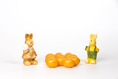 Goldene Ostereier Lizenzfreie Stockfotografie
