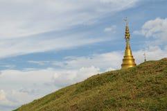 Goldene Pagode, Thailand stockbild