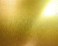 Goldene Platte Lizenzfreie Stockfotografie