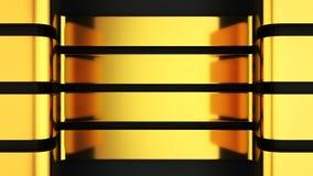 Goldene Platten stock abbildung