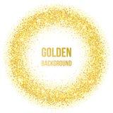 Goldene Punkte Stockfoto
