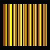 Goldene Quadratsammlung Nahtloses Muster der Goldhintergrundbeschaffenheitsvektor-Ikone stockfotografie