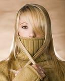 Goldene Schönheit Lizenzfreies Stockfoto
