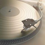 Goldene Schallplatten Stockfotografie