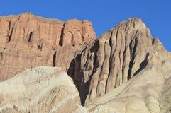 Goldene Schlucht-Spur, Death Valley Lizenzfreie Stockbilder