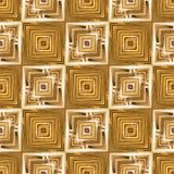 Goldene Seamles-Fliesen Stockfotografie