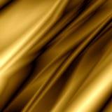 Goldene Seide Lizenzfreie Stockfotos