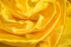 Goldene Seide Lizenzfreies Stockbild