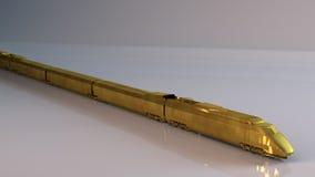Goldene Serie Stockbild