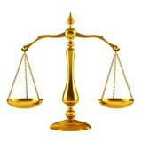 Goldene Skala Lizenzfreies Stockbild