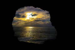 Goldene Sonne Stockbild