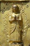 Goldene Statue Stockfoto
