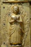 Goldene Statue Stockfotografie