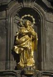 Goldene Statue Lizenzfreie Stockbilder