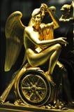 Goldene Statue Stockbild