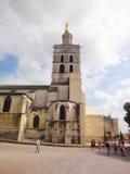 Goldene Statue von Jungfrau Maria, Avignon Lizenzfreie Stockbilder