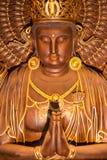Goldene Statuen der Hände zusammen Lizenzfreies Stockfoto