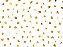 Goldene Sterne stockbilder
