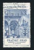 Goldene Straße in Prag Lizenzfreies Stockbild