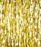 Goldene Streifen defocused Stockbilder