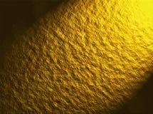 Goldene strukturierte Wand Stockbild