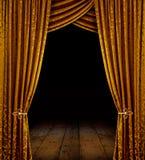 Goldene Stufe stockbild