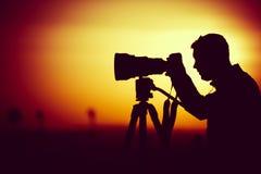 Goldene Stundenphotographie lizenzfreie stockfotografie