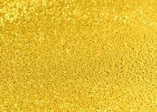 Goldene Tropfen Stockfotografie