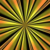 Goldene Turbulenz Lizenzfreie Stockbilder