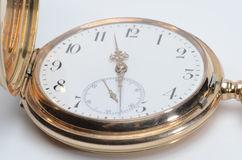 Goldene Uhr Stockfotografie