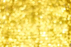 Goldene Unschärfe Bokeh Goldfunkelnde Lichter Bokeh Kreise stockfoto
