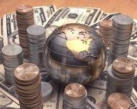 Goldene USA Lizenzfreies Stockfoto