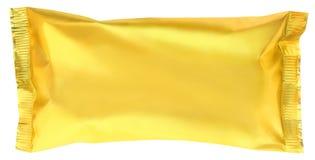 Goldene Verpackung Lizenzfreie Stockfotos