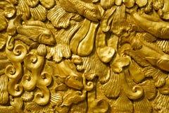 Goldene Wand Lizenzfreies Stockfoto