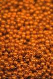 Goldene Weihnachtsdekoration Lizenzfreies Stockfoto