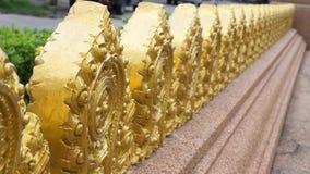 Goldene Zinne stockbild