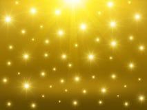 Goldener abstrakter Hintergrund Lizenzfreie Stockfotos
