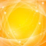 Goldener abstrakter Hintergrund stock abbildung