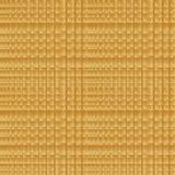 Goldener abstrakter quadratischer Hintergrund Stockbilder