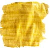 Goldener Acrylhintergrund Lizenzfreie Stockbilder