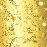 Goldener Apfel Stockbild