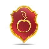 Goldener Apfel Stockfotos