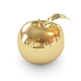 Goldener Apfel Lizenzfreies Stockfoto
