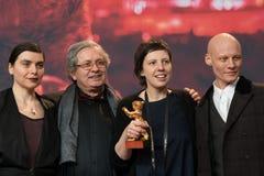 Goldener Bärn-Preis für bestes Film ` berühren mich nicht ` bei Berlinale 2018 Lizenzfreie Stockbilder