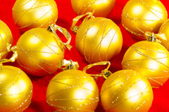 Goldener Ball stockfotos