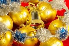 Goldener Ball stockbilder