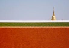 Goldener Berg Stockbild