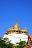 Goldener Berg, eine alte Pagode bei Wat Saket Stockfoto